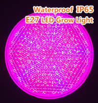 Waterproof  IP65  E27 LED Grow Light