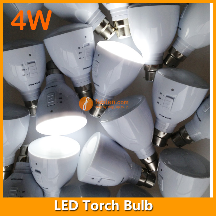 B22 LED Rechageable Bulb