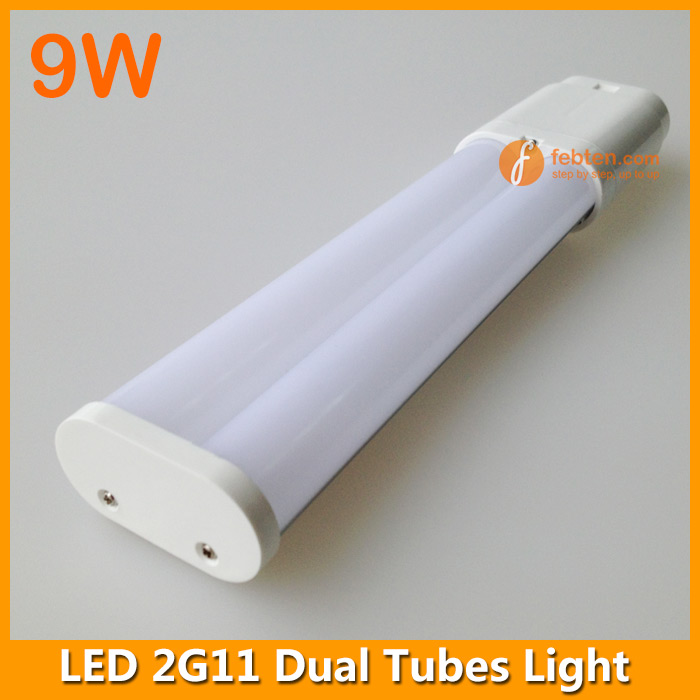 Dual 2G11 LED tube light in frosted