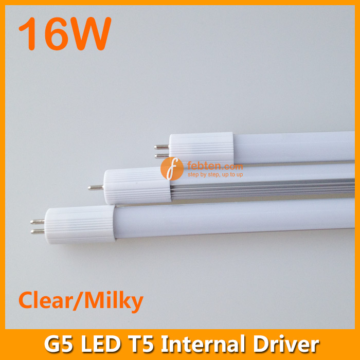 16w 120cm Led T5 Tube Light G5 Internal Driver