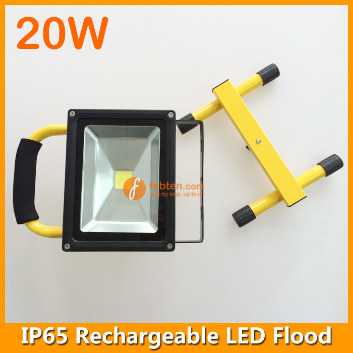 Led Flood Light Rechargeable 20w: 20W Rechargeable LED Flood Lamp IP65