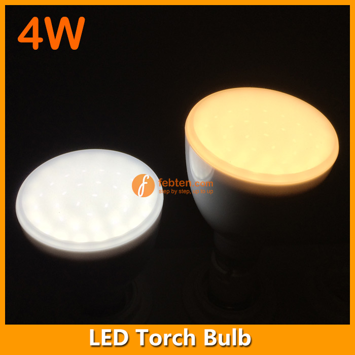 4W LED rechargeable bulb in E27 B22