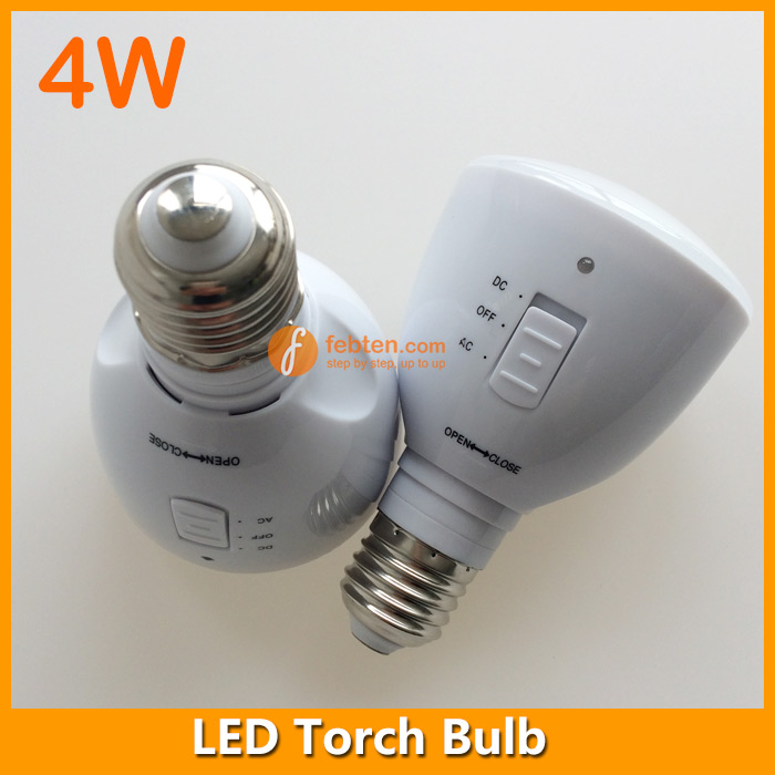 Rechargeable LED Bulb E27 4Watts