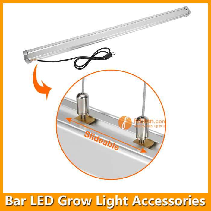 Waterproof LED Grow Lamp Installation
