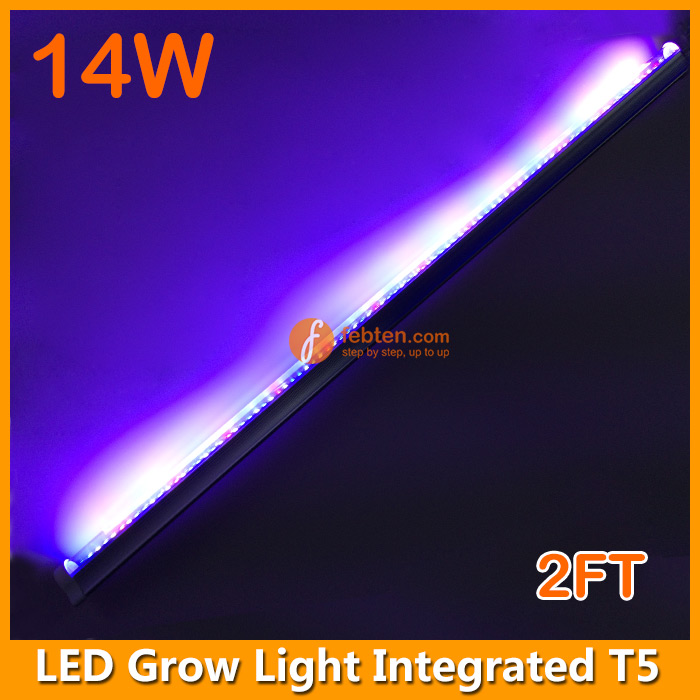 14W 2FT LED Plants Growing Light