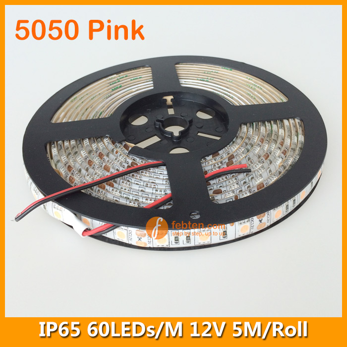5050 Pink Lighting Color LED Strip Kit