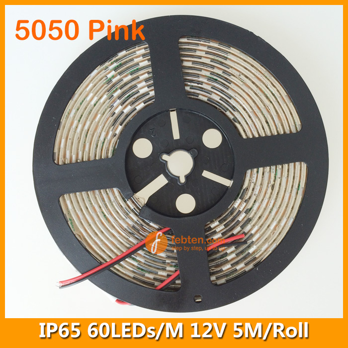 SMD5050 Pink Lighting Color LED Strip Kit