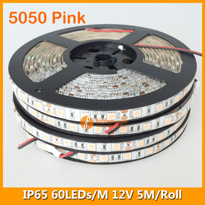 5050 Pink Lighting Color LED Strip Light