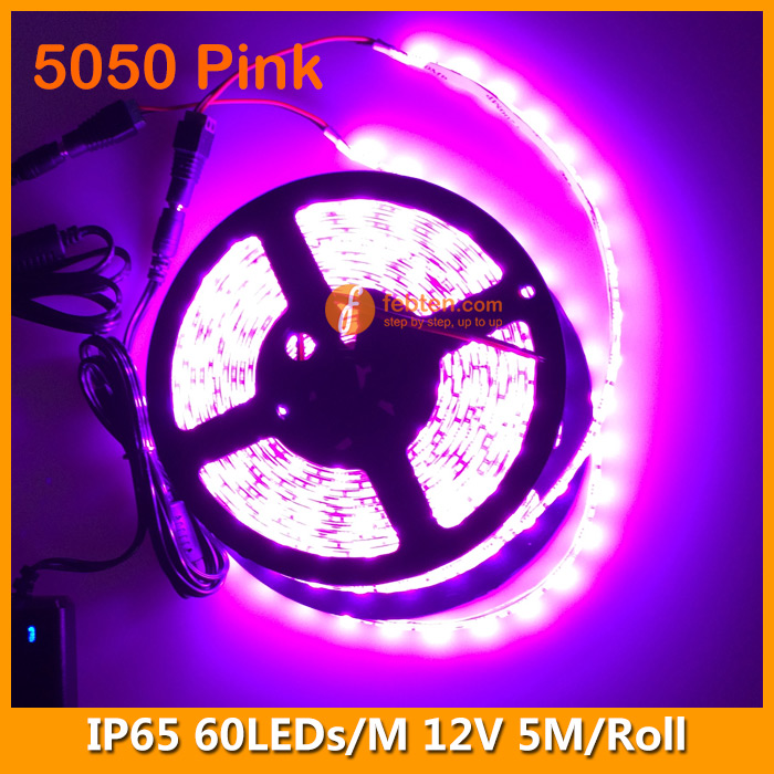 5050 Pink LED Strip Lighting