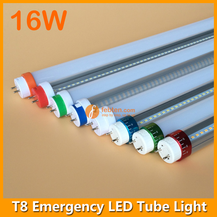 Rechargeable 16W LED T8 Emergency Lamp