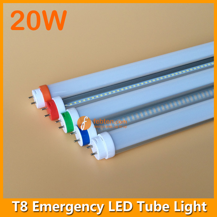 Rechargeable 20w 120cm Led T8 Tube Emergency Lighting
