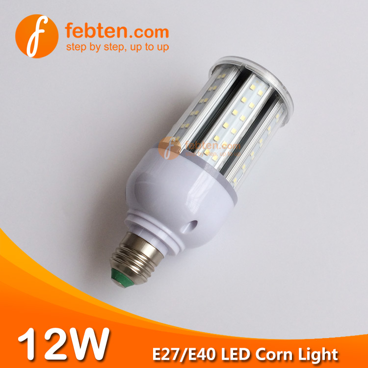12W LED Corn Light with Clear Cover