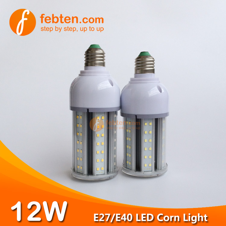 12W LED Corn Lamp with Clear Cover