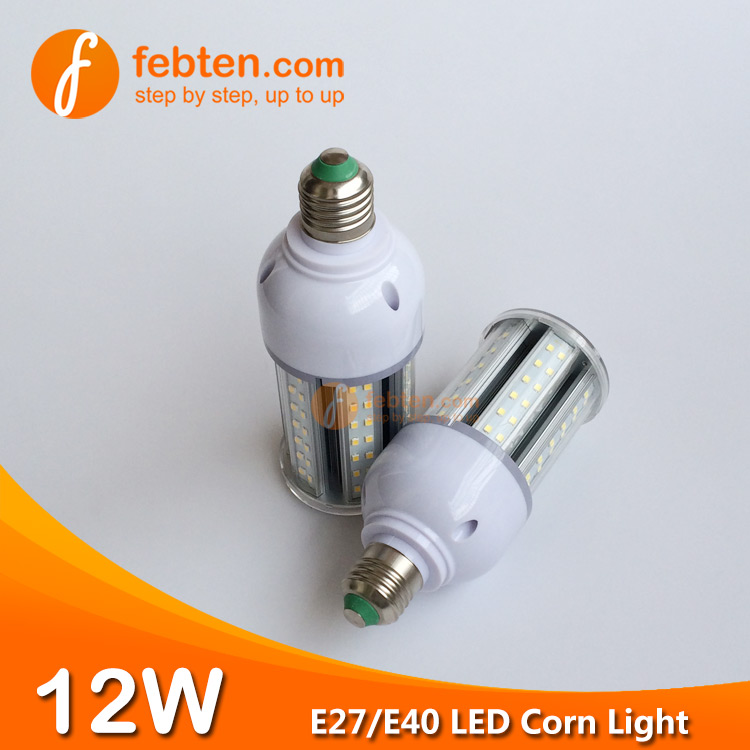 China 12W LED Corn Light with Clear Cover