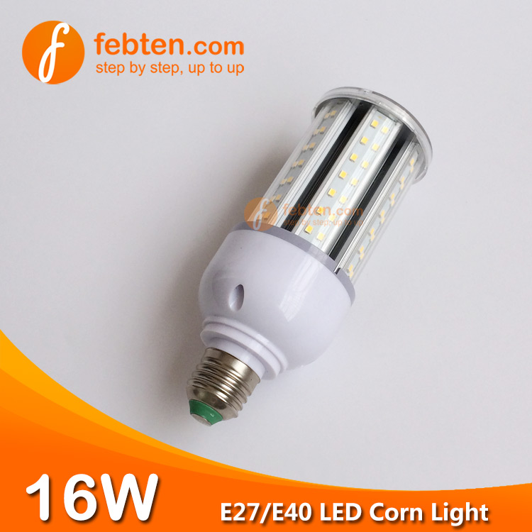 16W LED Corn Light with Clear Milky Cover