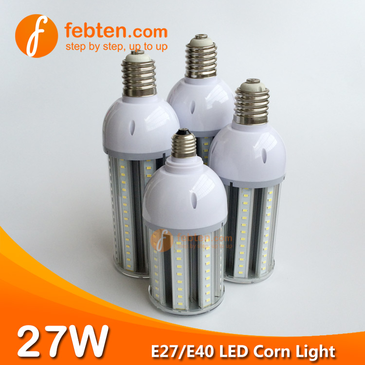 27W LED Corn Light with Clear Cover Wholesale