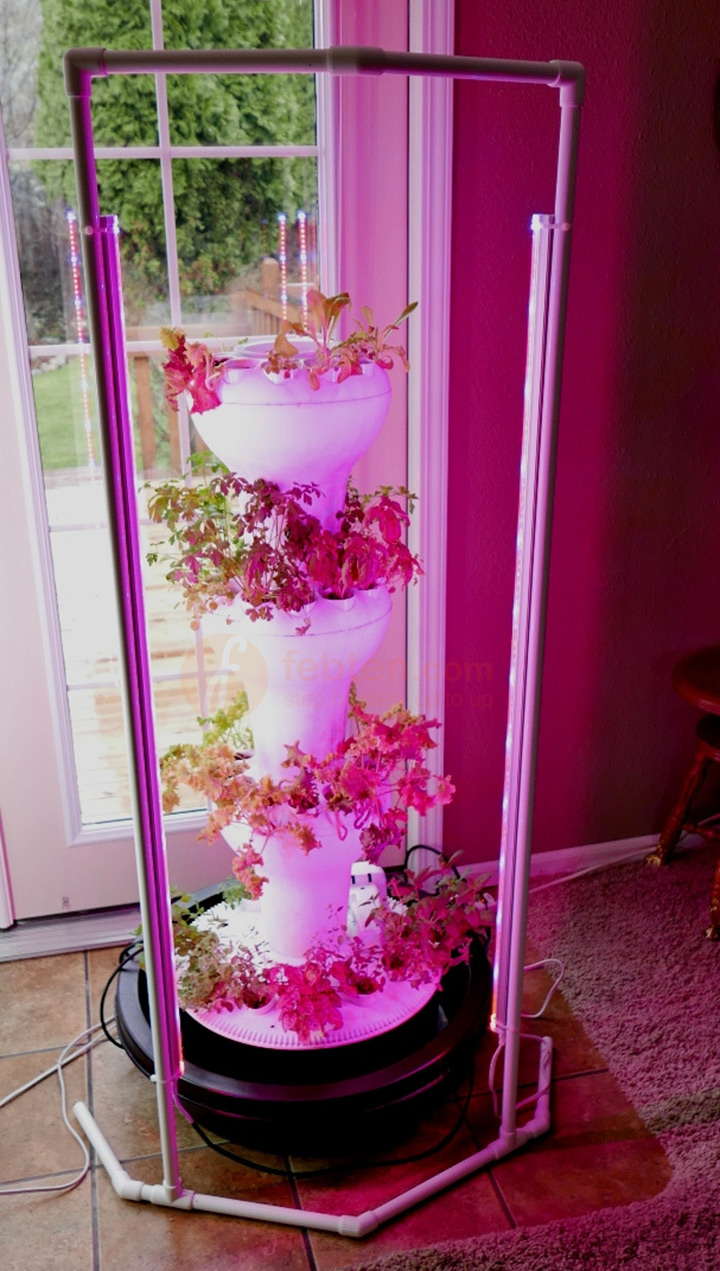 Led Grow Tube Light For Vertical Tower