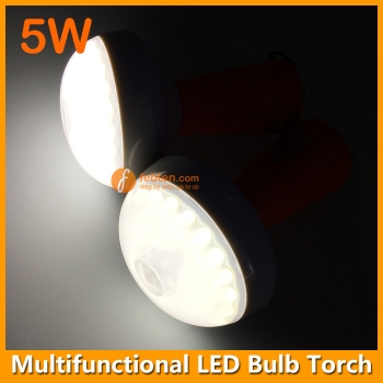 5W LED Bulb Torch Lamp with Magnet