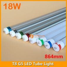 90cm 18W LED G5 Bi-Pin Tube Light 3ft 864mm