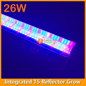 26W Reflector LED Grow Light Integrated T5 4FT