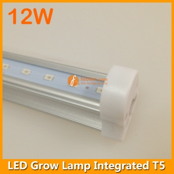 12w Led Grow Lamp Integrated T5 3ft Lights For Growing Plants