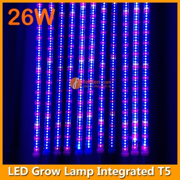 26W High Power  LED Grow Lamp Integrated T5 4FT