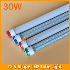 5ft 30W LED T8 V Shape Tube Light 240degree Beam Angle