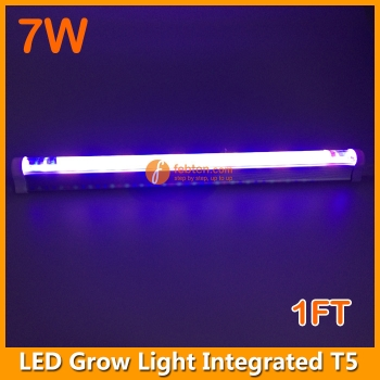 7W LED Grow Light Integrated T5 30CM