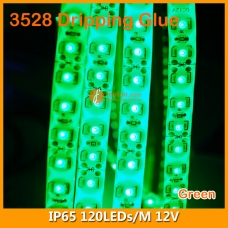 3528 Single Color IP65 LED Strip Lamp 12V 120LEDs/M