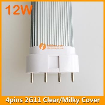 327mm 12W LED 2G11 Single Tube Light