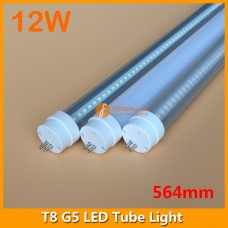 60cm 12W LED G5 Bi-Pin Tube Light 2ft 564mm