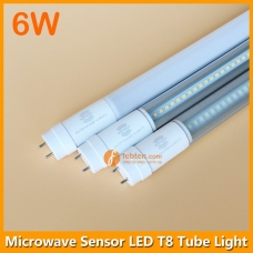 6W 30cm LED T8 Microwave Sensor Light