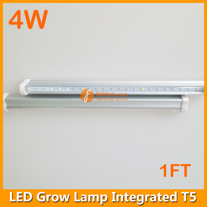 4w Led Grow Lamp Integrated T5 1ft Tube Grow Systems