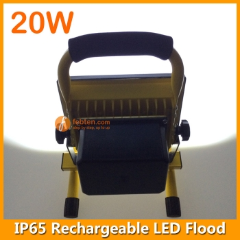 20W Rechargeable LED Flood Lamp IP65