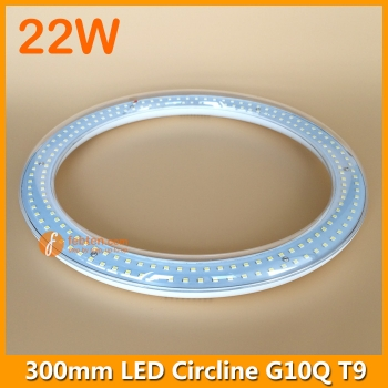22W 300mm LED Round Tube Light T9 G10Q