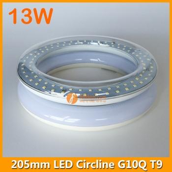 13W 205mm LED Round Tube Light T9 G10Q