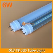 30cm 6W LED T8 Tube Light G13