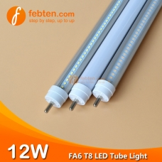 2feet 12W FA6 LED T8 Tube Light Single Pin
