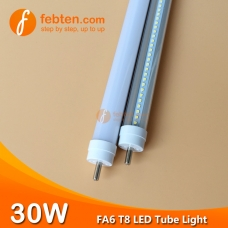5feet 30W FA6 LED T8 Tube Light Single Pin