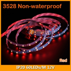 3528 Single Color IP20 LED Strip Lighting 12V 60LEDs/M