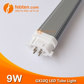9W 238mm GX10Q 4pins LED Tube Light
