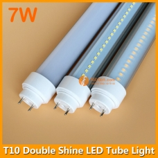 7W 30cm 1ft Double Shine LED Tube Light