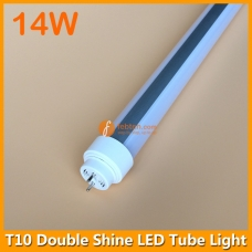 14W 60cm 2ft Double Shine LED Tube Light