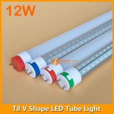2ft 12W LED T8 V Shape Tube Light 240degree Beam Anlge
