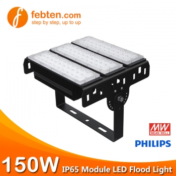 150W LED Module Flood Light with MeanWell Driver