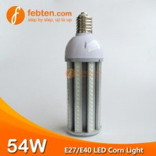 E27 E40 54W LED Corn Light with Clear Milky Cover