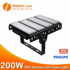 200W LED Module Flood Light with MeanWell Driver