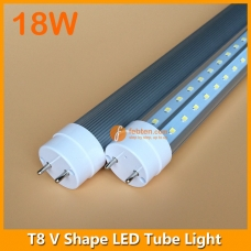 3ft 18W LED T8 V Shape Tube Light 240degree Beam Angle