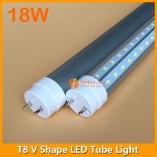 3ft 18W LED T8 V Shape Tube Light 240degree Beam Angle