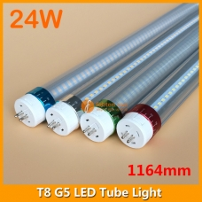 120cm 24W LED G5 Bi-Pin Tube Light 4ft 1164mm